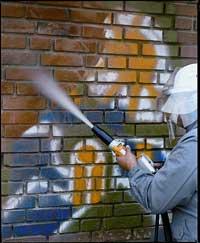Torbo AC25 Grafiti Straalketel